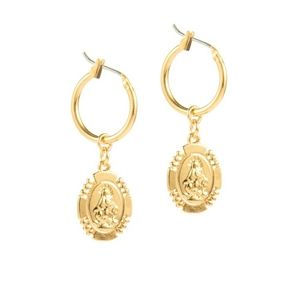 NWT Small Gold Plated Earrings
